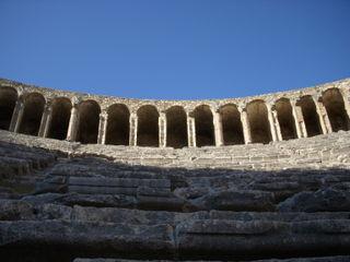 Ampitheatre Ruins at Perge (near Antalya)